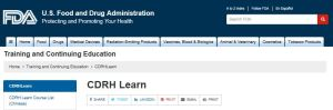 CDRH Learn