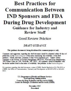 FDA best practices