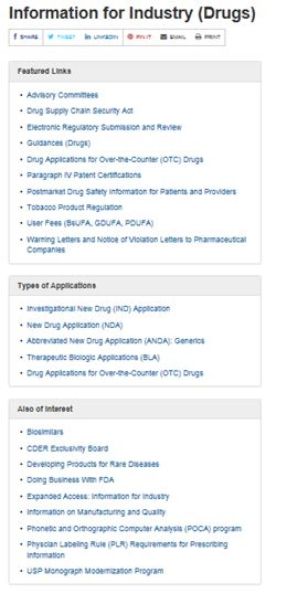 drug links