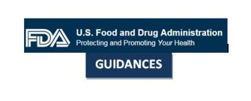 fda guidances