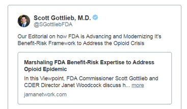FDA News and Views: Addressing Opioid Epidemic, NASEM Report